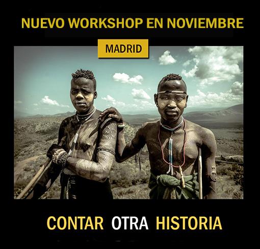 Nuevo Workshop de  fotografía para Contar Historias
