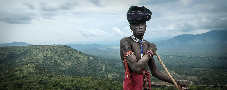 Harry Fisch en Etiopia
