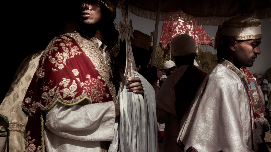 Copt priest in Ethiopia